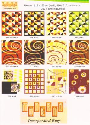 harga karpet moderno