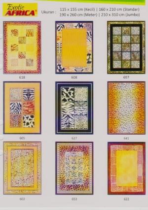 harga karpet exotic afrika