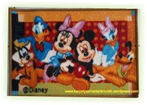 grosir karpet murah - mickey mouse 2