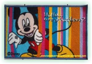 grosir karpet murah - mickey mouse